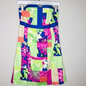 Thatch Patch Lilly Pulitzer Mini Strapless Dress